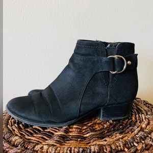 Unisa black ankle boots size 7.5